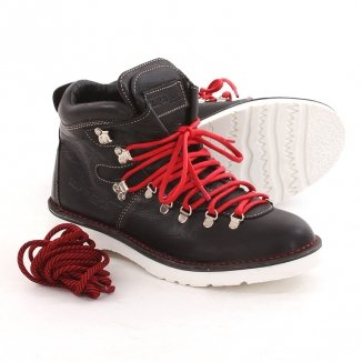 CLIP AND ROPE SIERRA Boots 2012 black/red/white sole, 46