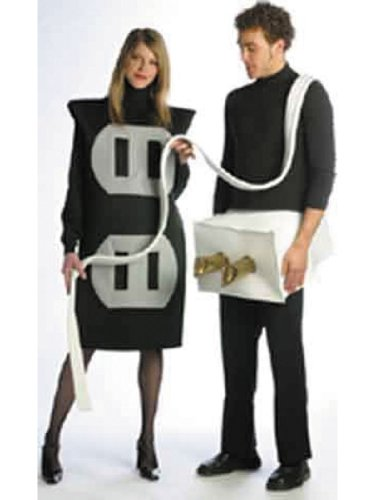 lowest price plug and socket set funny halloween costumes couples costume idea on sale