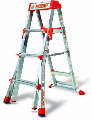 Little-Giant-Ladder-Systems-15234-001-Boost-300-Pound-Duty-Rating-Adjustable-Stepladder