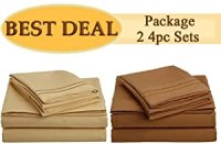 Amazon.com - King Size Bed Sheet Set, Best Deal!!! Package ...