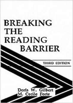 Breaking the Reading Barrier: Amazon.co.uk: Doris W