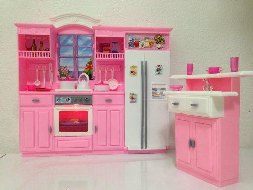 New Barbie Size Dollhouse Furniture Gloria Kitchen Play