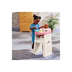little tikes doll high chair copper tolix amazon.com: tikes: tender heart doll's chair: toys & games