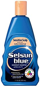 selsun blue sensitive scalp shampoo 11 ounce hair shampoos beauty