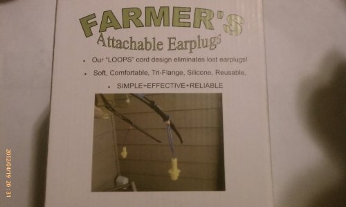 LOOPS Attachable Reusable Earplugs for Safety Glasses *100pr Box*