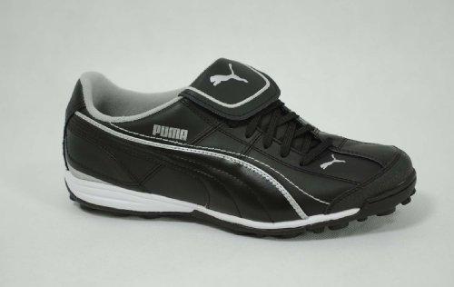 Puma Liga XL TT - Herren Fußball-Schuhe - Schwarz-Grau - Gr. 39