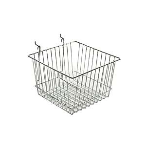 Amazon.com: Azar 300622 Wire Basket, Chrome: Home Improvement