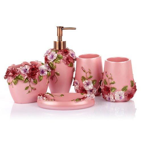 Popular Pink Bathroom Decor  WebNuggetzcom