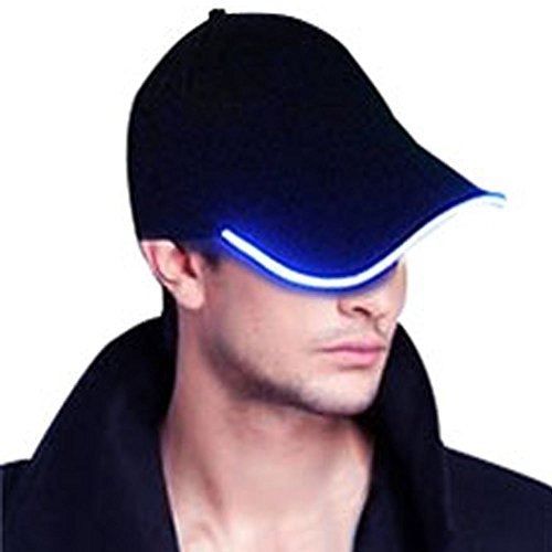 Glowseen® (Rechargeable Version) LED Light Up Glow Baseball Hat