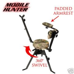Portable Hunting Chair Leather Parson Dining Chairs Ordernow Mobile Hunter Shooting Danyellewachter