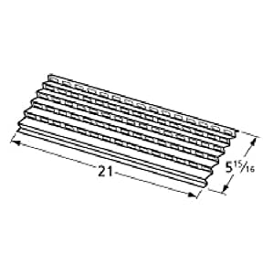 Music City Metals 94091 Stainless Steel Heat Plate
