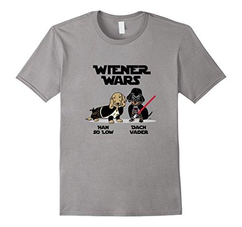 Wiener Wars Dachshund Men's Tee Shirt