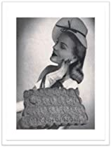 #2088 KNITTED RIBBON BRAID BAG VINTAGE KNITTING PATTERN