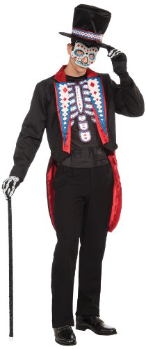 Forum Men's Day Of The Dead Costume