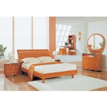 Buy Low Price Emily 4 Piece Kids Bedroom Set 1 Dresser 1 Mirror 1 Night Stand 1 Full Bed