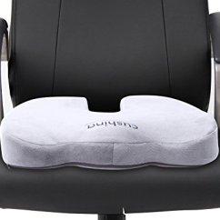 Memory Foam Desk Chair Cushion On Hardwood Floor Best Ergonomic Seat Cushions | Ergonomics Fix