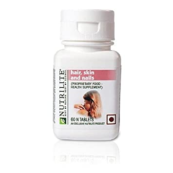 amway nutrilite hair skin nails 60 tablets glycine vitamin c skin nail health ebay