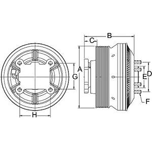 Horton 79A9465 Drivemaster Fan Clutch : Clutch Brake