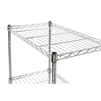 Wire Storage Rack With Wheels