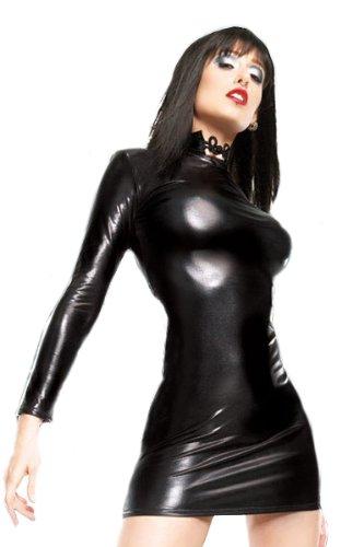 Wet-Look-Kleid