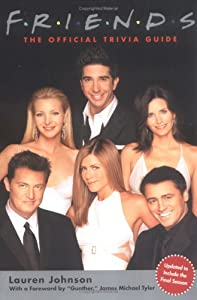 """Cover of """"Friends: The Official Trivia Gu..."""