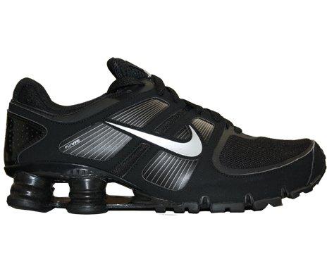 Buy Nike Shox Turbo+ 11 Mens Running Shoes Black/Metallic Silver-Black 407266-005-13