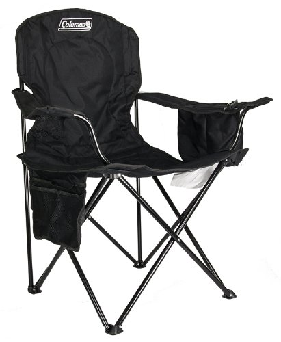 camping chair with cooler chicago table and rental coleman quad built-in cooler, black - buy online in uae. | misc. products the uae ...