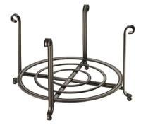 Amazon.com - InterDesign York Dinner Plate Stand, Bronze ...