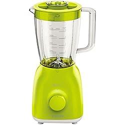 Philips HR2105/40 - Batidora de vaso, color verde (material vidrio y polipropileno, potencia 400 W)