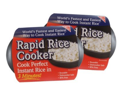 rapid rice cooker microwave instant minute rice in less import it all