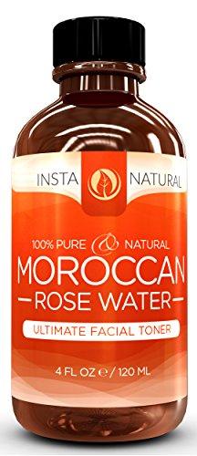 InstaNatural Pure and Natural Moroccan Rose Water Ultimate Facial Toner