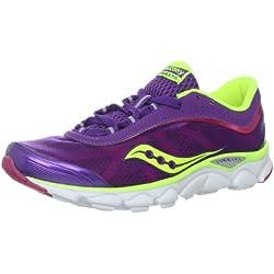 Saucony Women's Virrata Running Shoe,Purple/Citron/Pink,11 M US