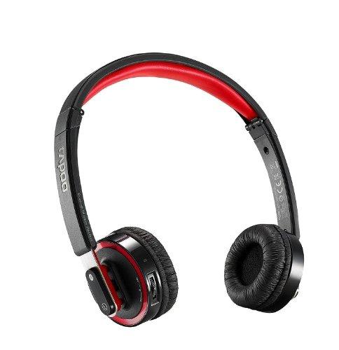 ユニーク 高級コードレス ヘッドフォン&ヘッドセット rapoo6080 ブラック H6080