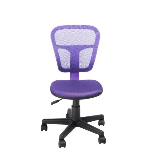 White Desks and Cool Chairs for Teens