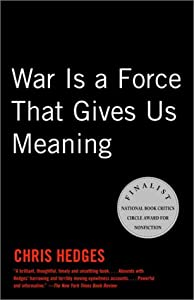 """Cover of """"War Is A Force That Gives Us Me..."""