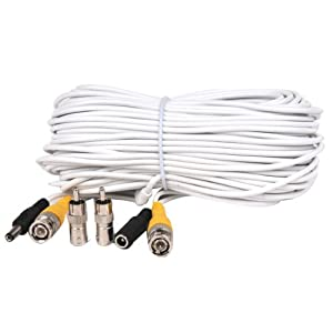 Amazon.com : VideoSecu 100ft Feet Video Power Cable BNC