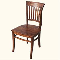 Amazon.com - Solid Wood Kitchen Side Dining Chair ...