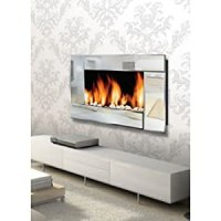 Warm HouseTM Reflections Wall Mount Electric Fireplace ...