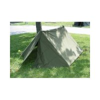 Amazon.com : U.S. Military Tent Half Shelter : Canvas Tent ...