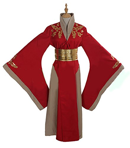 Queen Cersei Lannister Red Luxury Dress Game of Thrones Costume