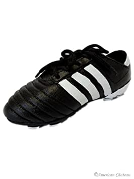 Black Soccer Shoes/Cleats Money Piggy Bank