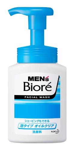 メンズビオレ 泡タイプオイルクリア洗顔