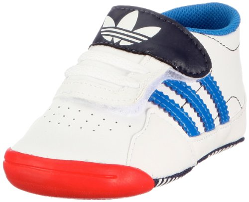 Adidas ADINDOOR FORUM CRIB infants - originals (sport) wht/blubir/n, Größe Adidas UK:19