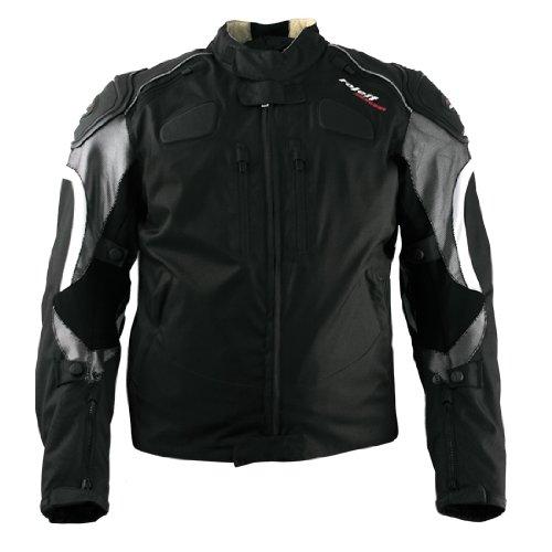 Roleff RO 326 Gr. L Kodrajacke Sports, schwarz / silber