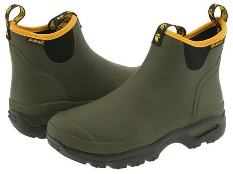 Hampton 3.0 MM Green Rubber Boot, Green