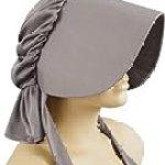 Women's Grey Pioneer Costume Bonnet