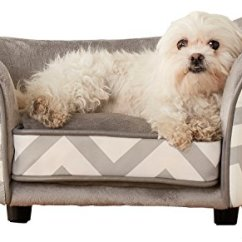 Enchanted Home Mackenzie Pet Sofa Small Bedroom Dog Products Must Have Stuff For Lovers Spiffy Xl Snuggle Bed 26 5 By 16 Inch