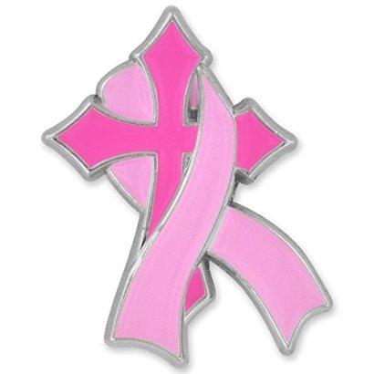 Breast-Cancer-Cross-Ribbon-Pin