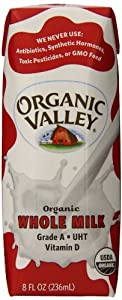 Amazoncom Organic Valley Whole Milk Ultra Pasteurized