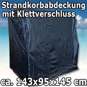 11344 Strandkorbabdeckung Abdeckplane Abdeckung Schutzhülle für Strandkorb bis 1,20m breit